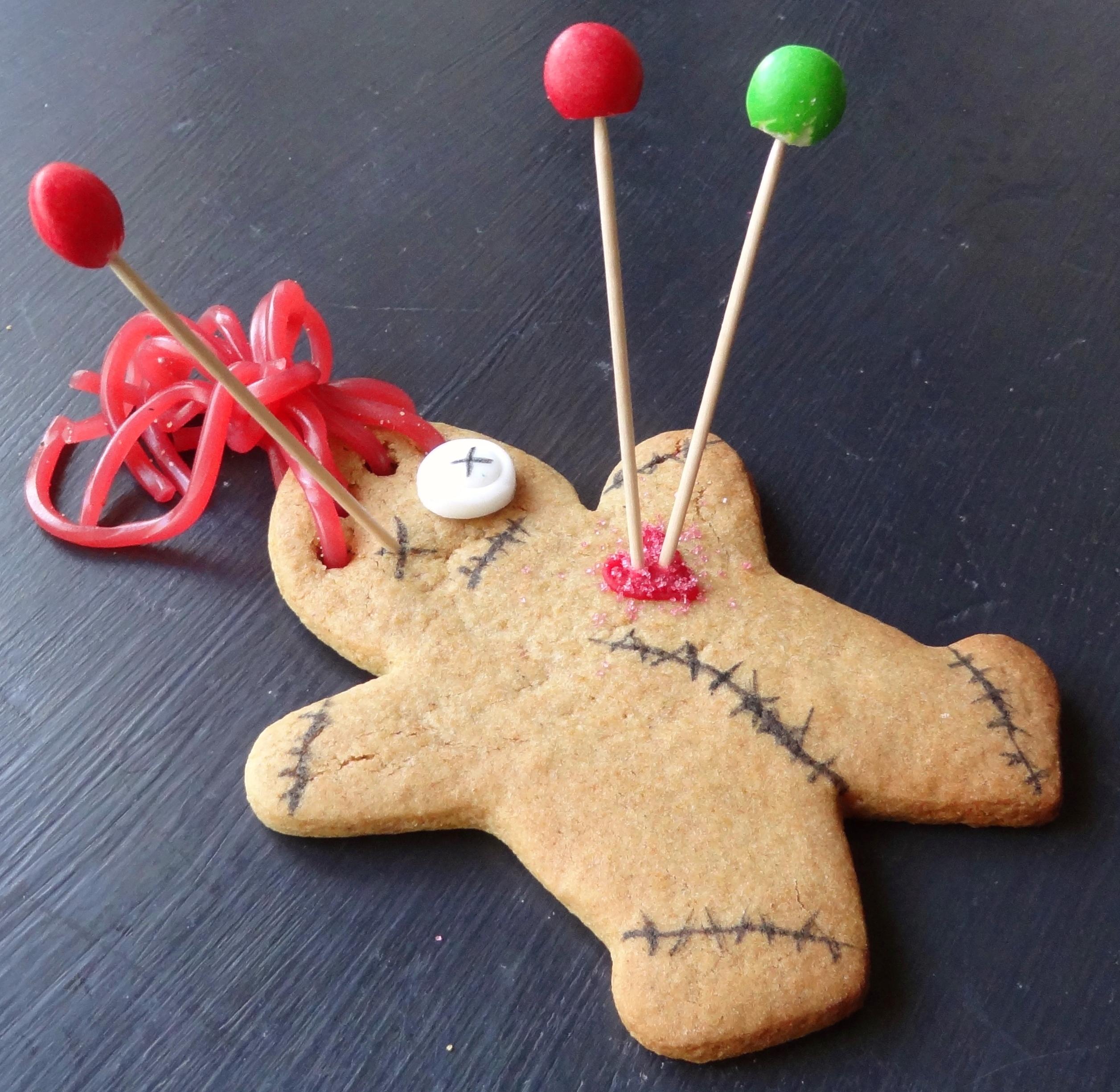 Gingerdead Men - Voodoo Doll Gingerbread Men - Domestic Gothess