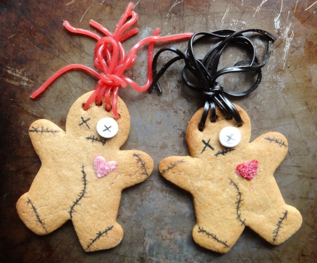 voodoo doll gingerbread men
