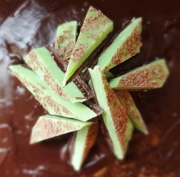 mint chocolate bark