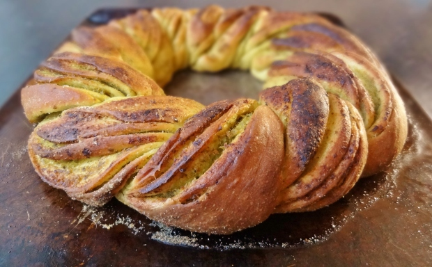 Braided Pesto Bread